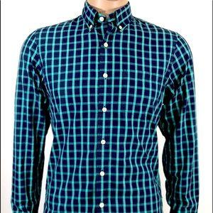 J.Crew Men's Shirt Slim Fit L/Sleeve Button Up